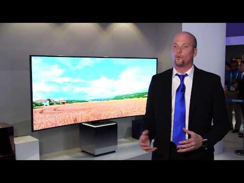 """Samsung 82S9 82"""" SUHD TV at CES 2015"""