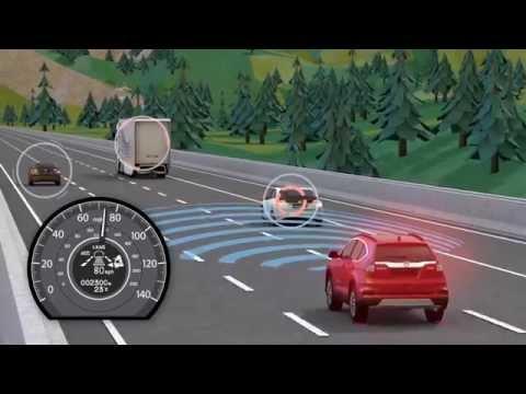 Honda Sensing i-ACC - intelligent Adaptive Cruise Control | AutoMotoTV
