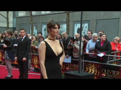 Gemma Arterton Shows Off A Lot At The Olivier Awards