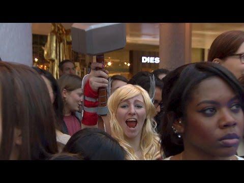 AVENGERS 2 European Premiere Video [Part 1]