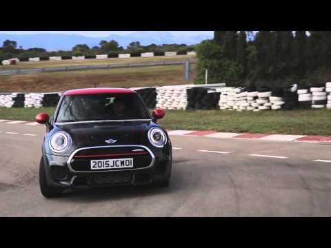 The new MINI John Cooper Works Driving Video Race Track Trailer | AutoMotoTV