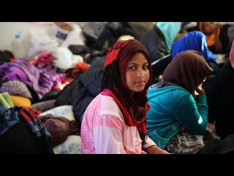 Would-be migrants to Europe await fate in Libya