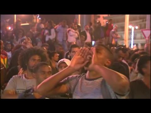 Israelis of Ethiopian origin protest police violence