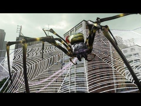 Earth Defense Force 2025 Gameplay Trailer (with giant spiders !)