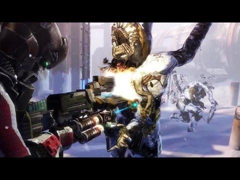 Dead Space 3 Mass Effect N7 Armor Trailer