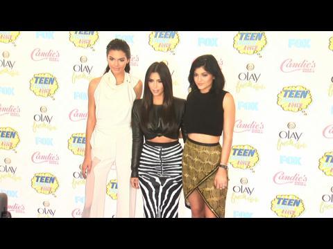 Kim Kardashian West and Jenner Girls Lead 'Teen Choice' Fashions