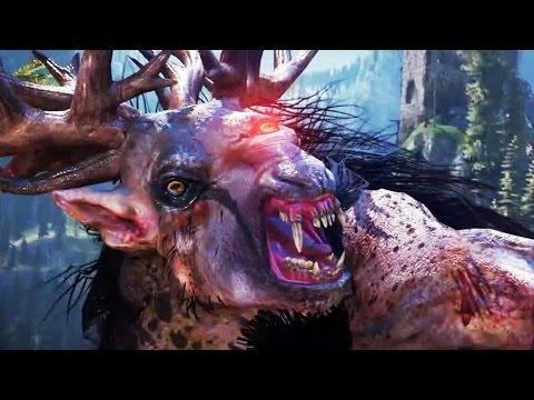 THE WITCHER 3 World Setting [Gamescom 2014]