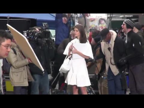 Diane Kruger, Model Emily DiDonato, Blake Shelton, Roma Downey, Natalie Dormer and more Celebrity Sightings