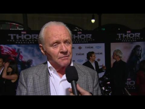 "Sir Anthony Hopkins At The Premiere of ""Thor: The Dark World"" in Los Angeles"