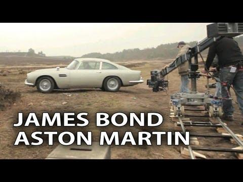 Skyfall James Bond's Aston Martin DB5 Spotlight