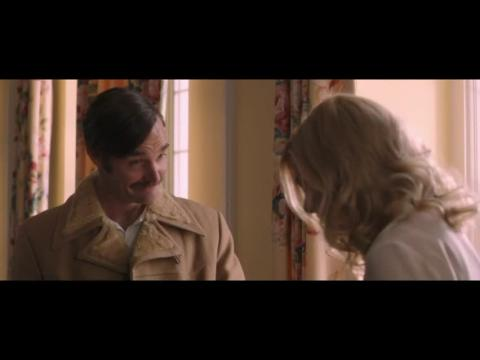 Jennifer Aniston And Will Forte In A Scene From 'Life of Crime'