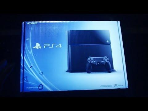 PLAYSTATION 4 - The Official PS4 Unboxing Video !