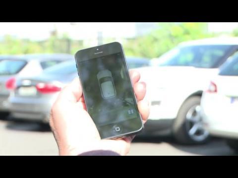 French tech company develops self-parking phone app