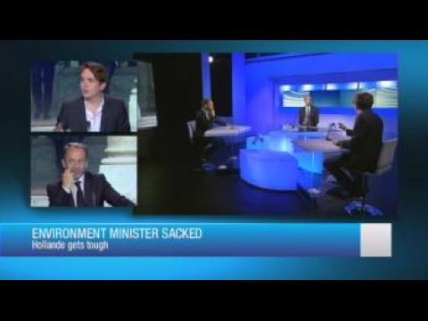 Environment minister sacked: Hollande gets tough
