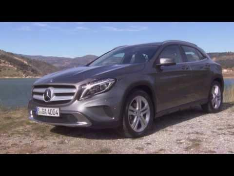 Mercedes-Benz GLA 200 CDI 4MATIC mountain grey metallic - Design | AutoMotoTV
