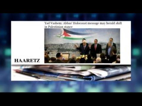 Abbas calls Holocaust 'most heinous crime'