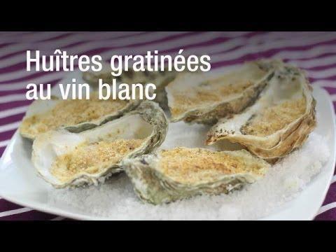recette des hu tres gratin es au vin blanc sur orange vid os. Black Bedroom Furniture Sets. Home Design Ideas