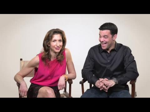 David Alan Basche From TV Land's The Exes And His Wife Alysia Reiner From 'Orange Is The New Black' Discuss Their Shows.