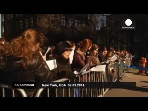 Ultra-orthodox Jews rally in New York against Israeli military draft bill