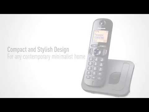 Panasonic KX-TGC210 Cordless Telephone