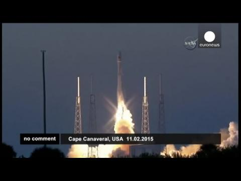 SpaceX launches Falcon 9 rocket into space