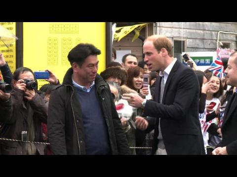 Prince William visits tsunami-hit northeast Japan, four years on