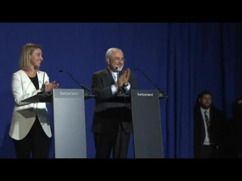Framework for final deal reached at Iran nuclear talks
