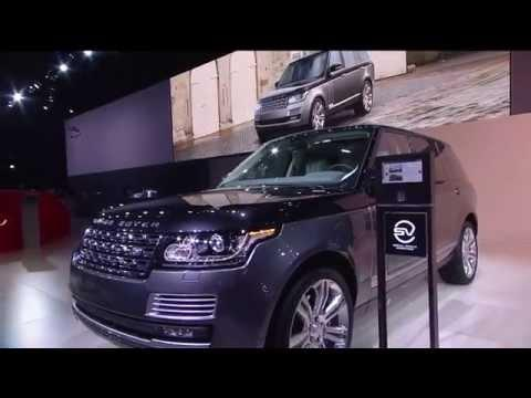 Jaguar Land Rover Press Conference New York 2015 | AutoMotoTV