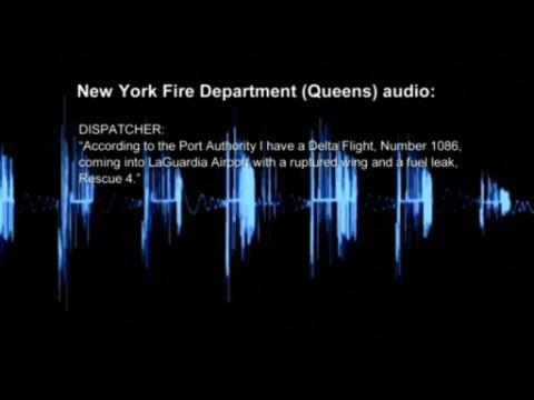 Emergency responder audio recounts when Delta Airlines plane slid off runway at LaGuardia