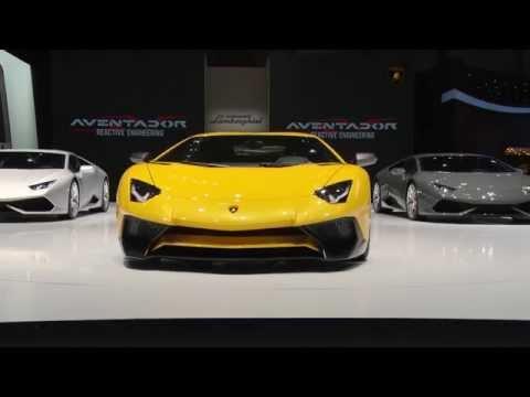 New Lamborghini Aventador LP 750-4 Superveloce at 2015 Geneva Motor Show | AutoMotoTV