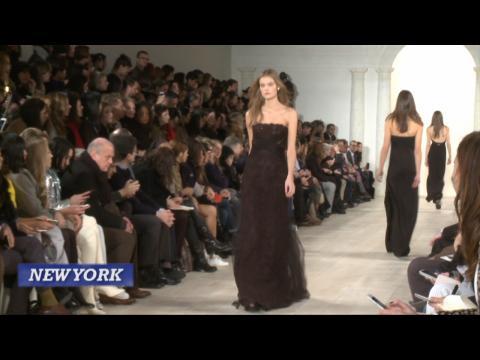 Calvin Klein And Ralph Lauren Close Out New York Fashion Week