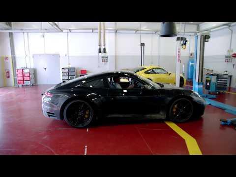 Development Porsche 911 - Testing in Nardò - Preparations