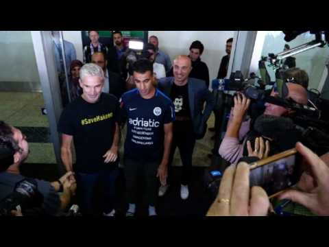 Refugee footballer Hakeem al-Araibi arrives in Australia