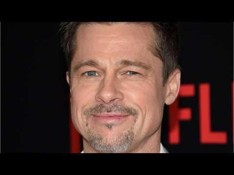 Brad Pitt Went To Jennifer Aniston's 50th Birthday Party