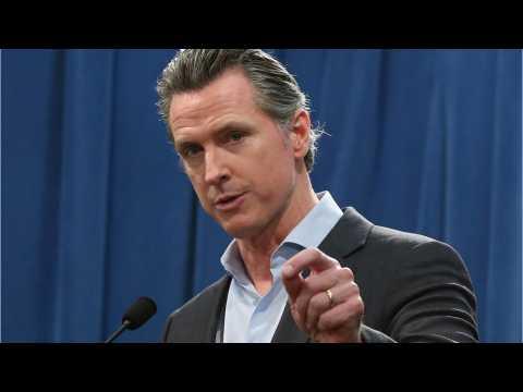 California Gov. Gavin Newsom Takes Aim At Trump's Anti-Immigration Policies