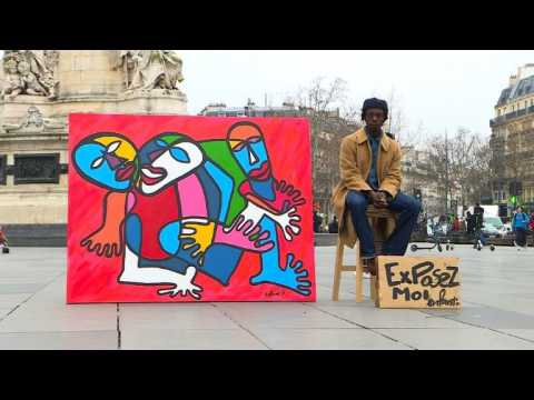 Artist seeks gallery - pounding the Paris pavement for a show