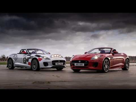 Jaguar F-TYPE Chequered Flag & Rally Car Review