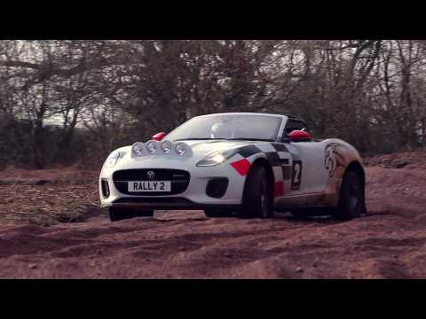 Jaguar F-TYPE Rally Car Off-road Preview