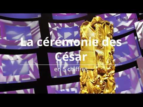 La cérémonie des César en 5 chiffres
