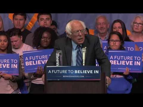 Bernie Sets Fundraising Record