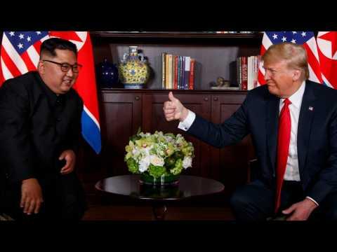 Trump Calls Kim Jong Un 'A Great Leader,' Says End Of Korean War A Possibility