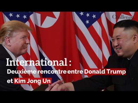 International : Deuxième rencontre entre Donald Trump et Kim Jong Un