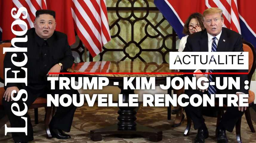 Illustration pour la vidéo Donald Trump et Kim Jong-Un : des déclarations, mais pas d'accord