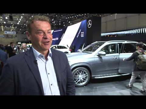 Mercedes AMG at Geneva Motor Show 2019 - Tobias Moers, Chief Executive of Mercedes AMG