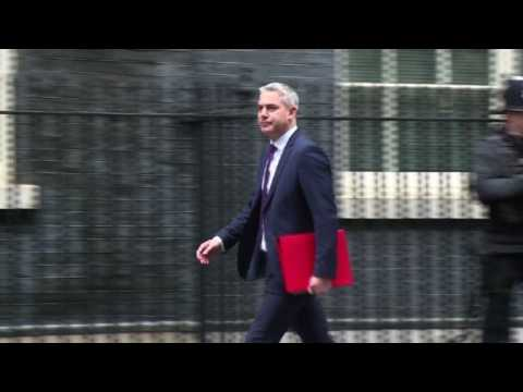 Ministers arrive for Cabinet meeting ahead of key Brexit vote