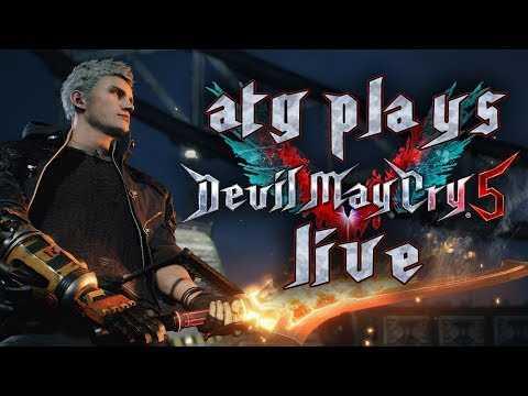 Devil May Cry 5 Gameplay Walkthrough Livestream | From Nero To Hero