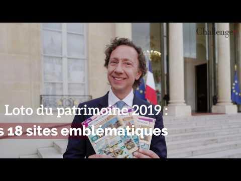 Loto du patrimoine 2019: les 18 sites emblématiques