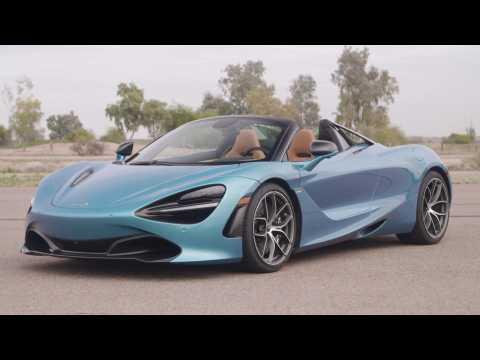McLaren 720S Spider Design in Belize Blue