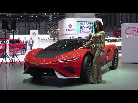 GFG Style presented the Kangaroo at the 2019 Geneva Motor Show