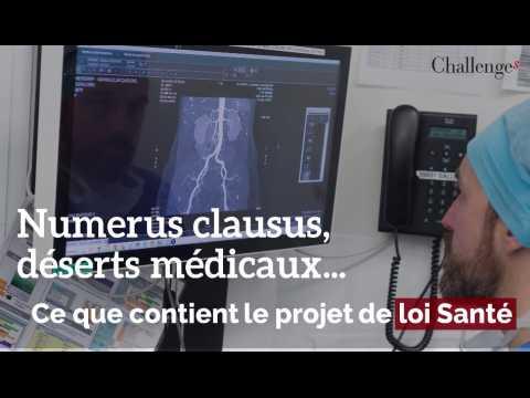 Numerus clausus, déserts médicaux: ce que contient le projet de loi Santé